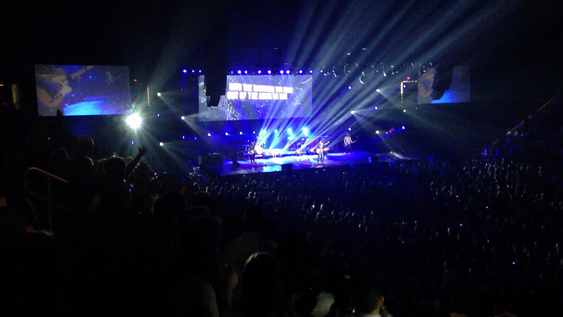 "Chris Tomlin Concert in Fairfax, VA at the Patriot Center.  ""How Great is our God"""