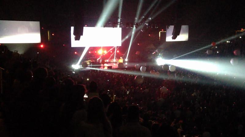 Chris Tomlin Concert in Fairfax, VA at the Patriot Center.  Last song
