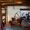 Mt Vernon Spinning room, panorama