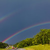 Double Rainbow over I-81, MD