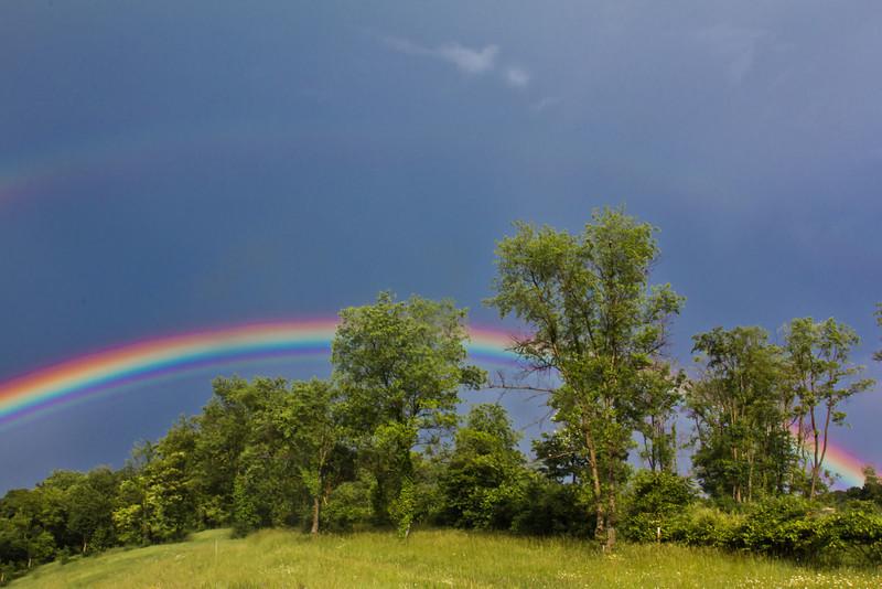 Rainbow on I-81