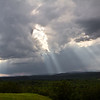 Crepuscular Rays, Kailash Hill, VA