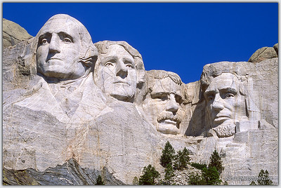 Mount Rushmore, South Dakota  (SD-0203)