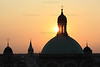 """Sunset over Sant'Alessandro""<br /> Milan, Italy"