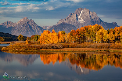 Autumn at Oxbow Bend  (GT-09114)
