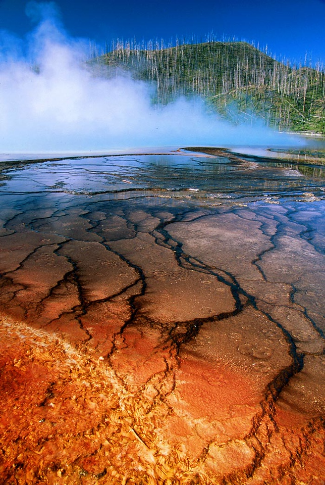 (A026) Grand Prismatic Springs - Yellowstone N.P., Wyoming