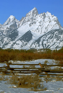 Winter Tetons  (F024)
