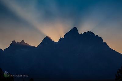 Sunset at Grand Teton  (GT-09040)