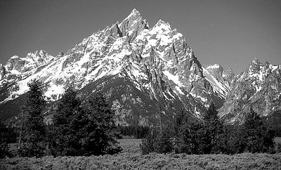 (C002) Cathedral Group - Grand Teton National Park, Wyoming