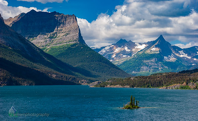 Wild Goose Island and St. Mary Lake  (GL-07008)