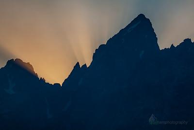 Sunset at Grand Teton  (GT-09039)