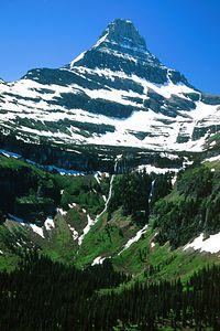 (B079) Mount Reynolds - Glacier Nat'l Park, Montana