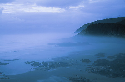 "(B091)  ""Misty Blue"" along the Oregon Coast"