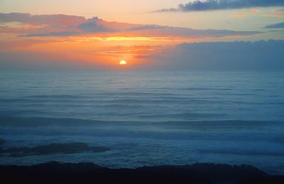 (I061)  Pastel Sunset - Oregon Coast