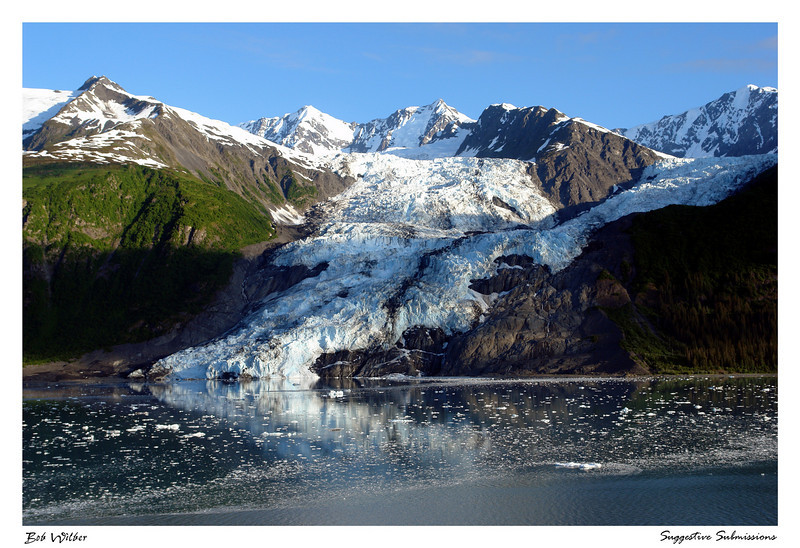 """Reflections of a Glacier"""