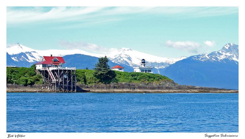 """Alaskan Lighthouse"""