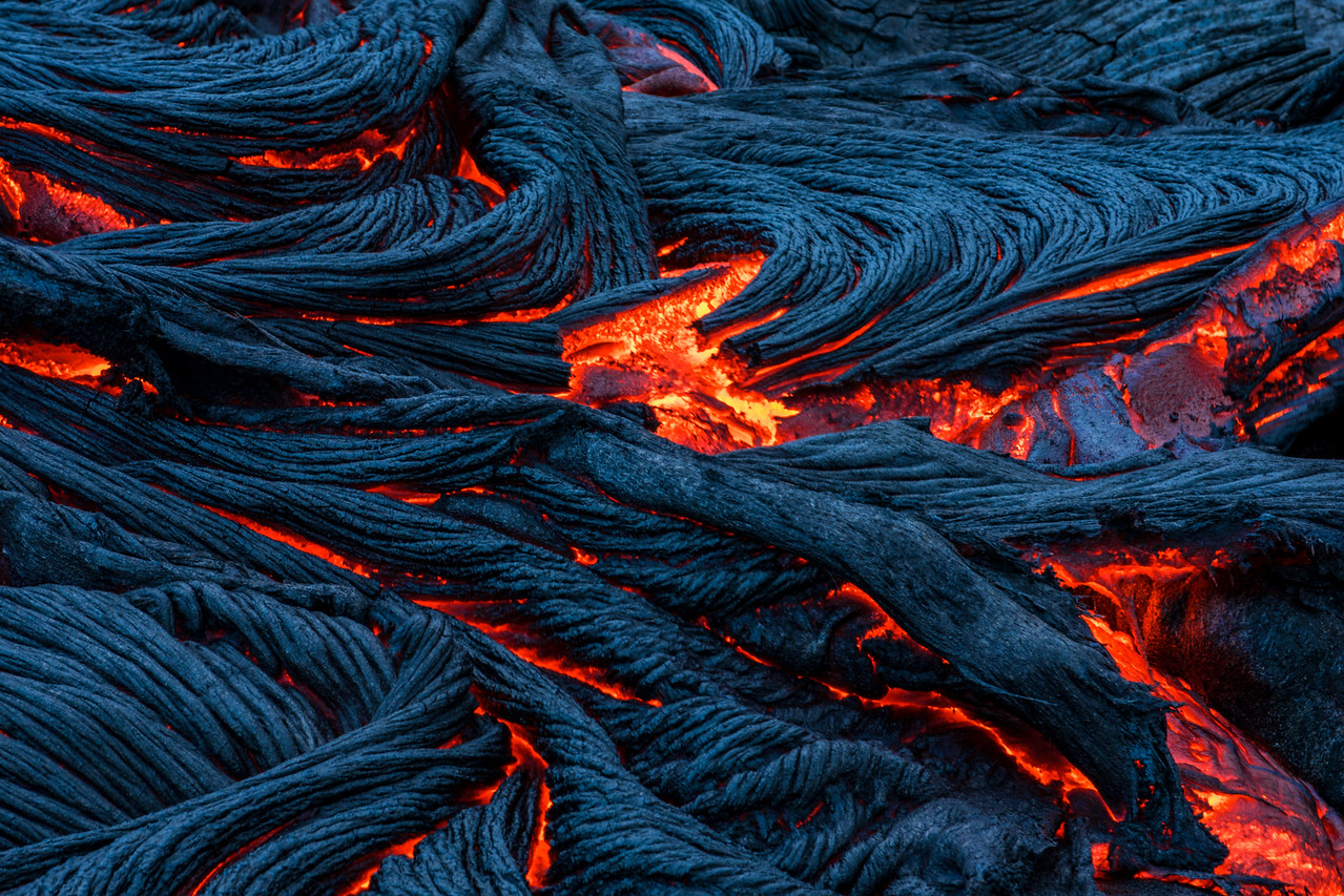 Pahoehoe Abstract