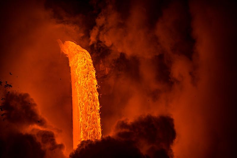The Lava Fire Hose