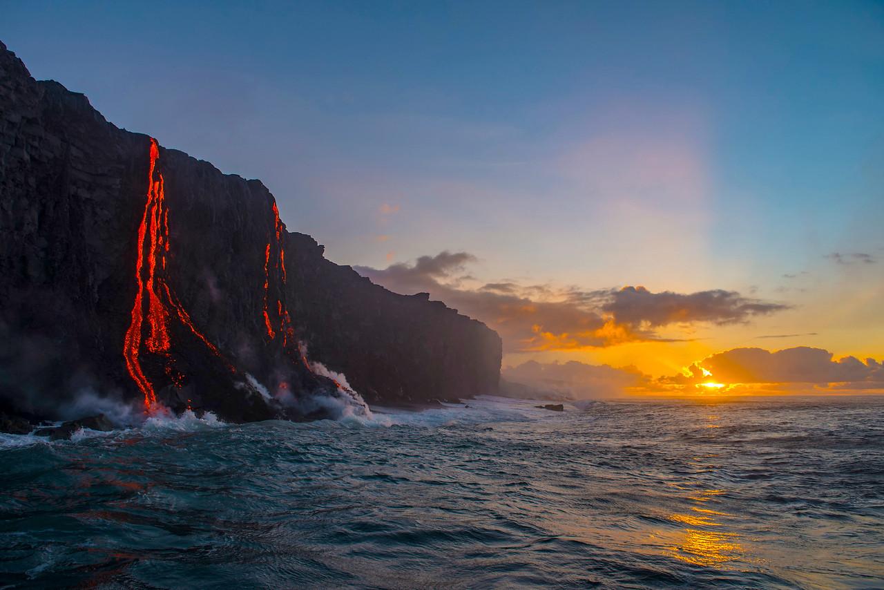 Kamokuna sunrise