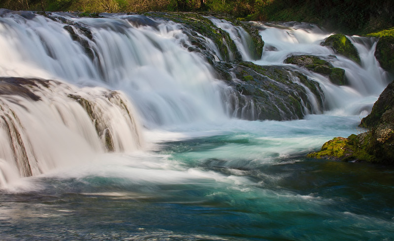 Dougan falls on the Washougal river in SW Washington.