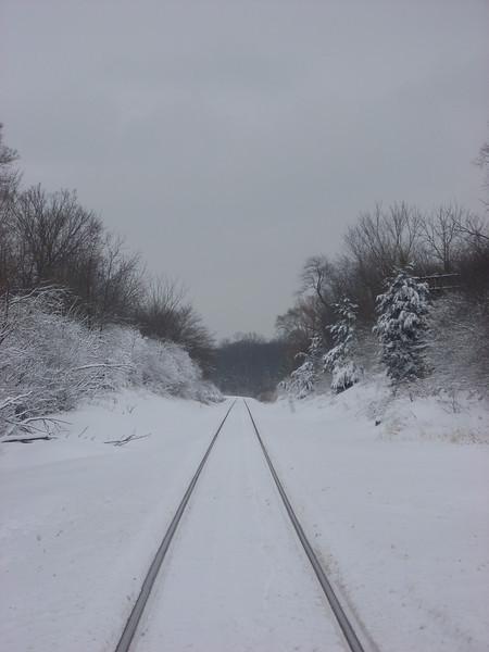Barrington, IL on the EJ&E railroad tracks.