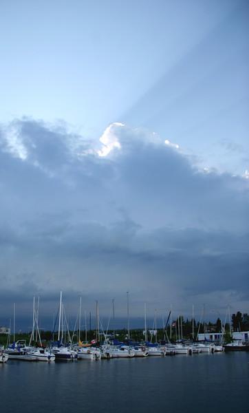 Wabamun Lake and Weather