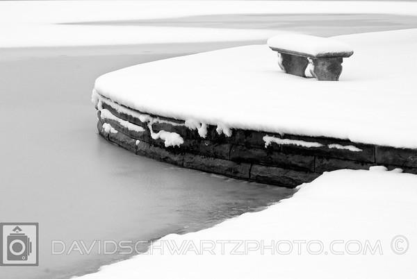 Winter On The Lagoon, Wade Lagoon, University Circle Cleveland Ohio