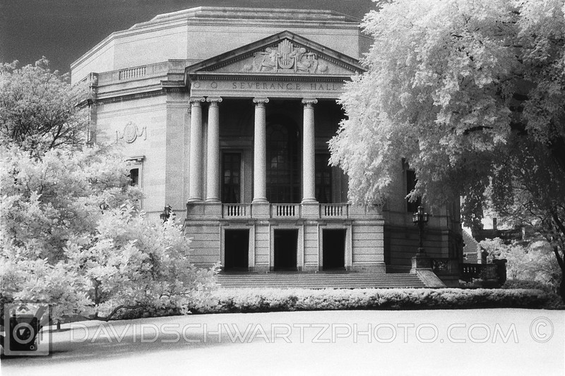 """""""Severance Hall"""" Art Moderne design by Walker and Weeks. Home of The Cleveland Orchestra,  University Circle Cleveland Ohio"""