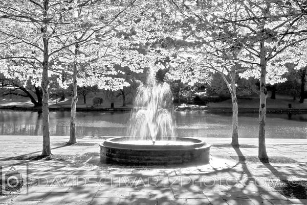 """Fountain #3"" Wade Lagoon, University Circle Cleveland Ohio"