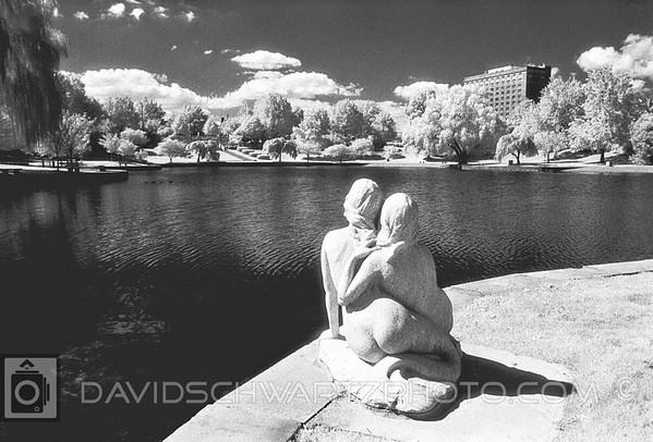 """Lovers"", Wade Lagoon, University Circle Cleveland Ohio"