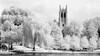 """Amasa Stone Chapel #1"", Wade Lagoon, University Circle Cleveland Ohio"