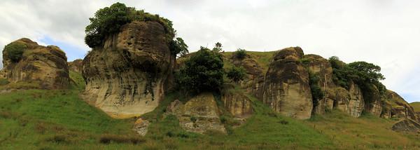 Between Port Waikato and Nikau Cave, New Zealand.