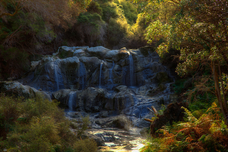 Kakahi Falls, Hell's Gate, Rotorua, New Zealand
