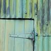 Green door, Canaerfon, Wales