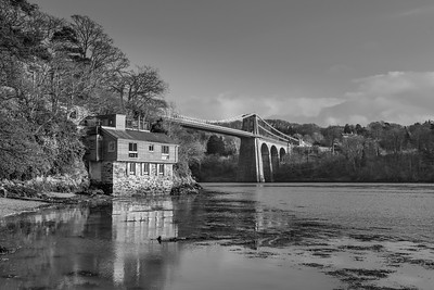 The Menai Strait Bridge, Wales