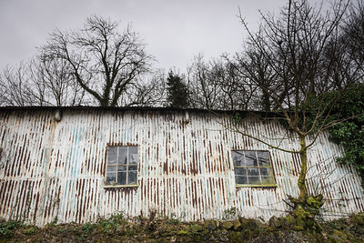 Boatyard, Canaerfon, Wales