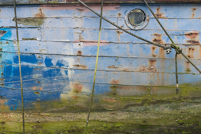 Old boat, Canaerfon, Wales, Study 1