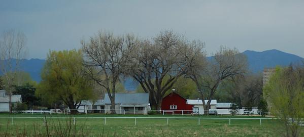 red barn Boulder, CO