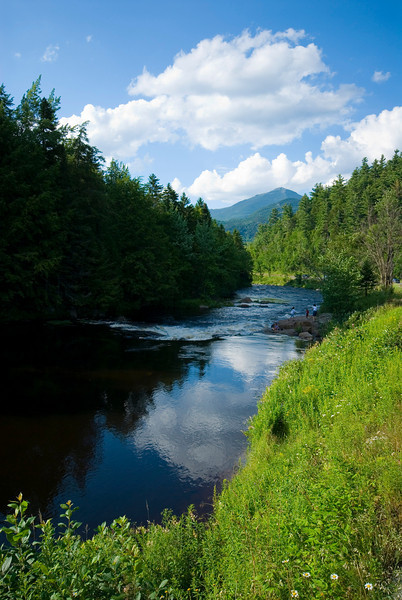 The Ausable river just downstream of Lake Placid, NY