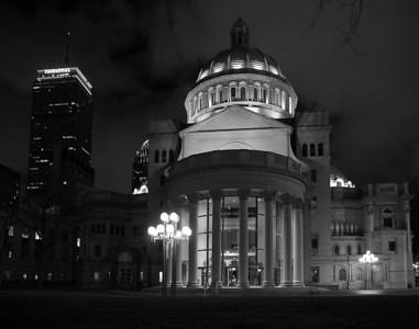Christian Science building Boston, MA