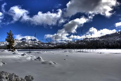 Caples Lake Winter