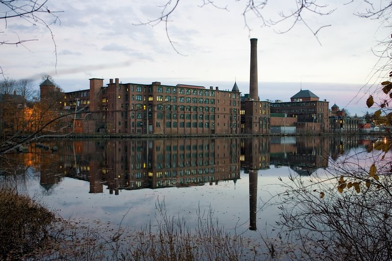 The Watch Factory in Fall<br>8 November 2004