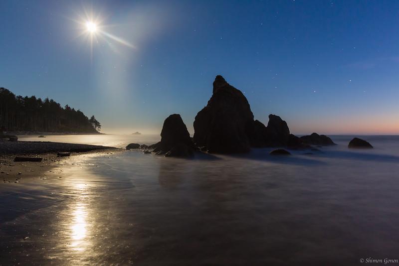 Moon lit Ruby