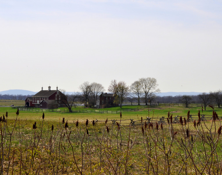 Farmhouse near High Water mark, Gettysburg
