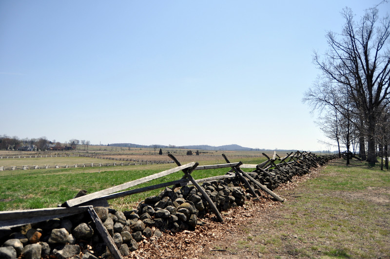 Fence on Confederate Side of Lines, Gettysburg
