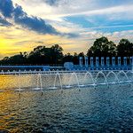 National-World-War-II-2-Memorial-Fountains-Sunset-Washington-DC_D8X6320