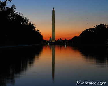 Washington Monument, August Sunrise