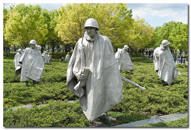 The Korean War Veterans Memorial