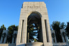 The Pacific Theatre side of the WWII Memorial.