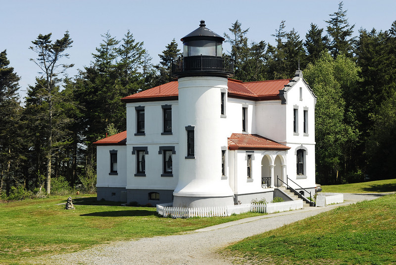 FORT CASEY WA. LIGHTHOUSE